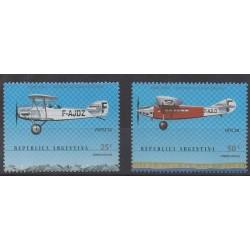 Argentina - 2000 - Nb 2180/2181 - Planes