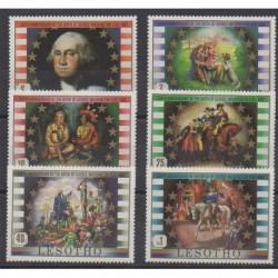 Lesotho - 1982 - Nb 492/497 - Various Historics Themes