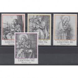 Lesotho - 1991 - No 981/984 - Noël
