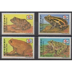 Lesotho - 1994 - Nb 1132/1135 - Animals