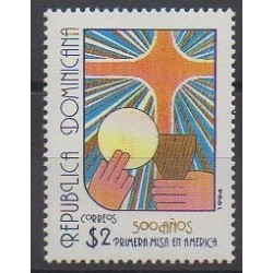 Dominican (Republic) - 1994 - Nb 1129 - Religion