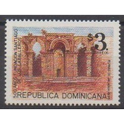 Dominican (Republic) - 1995 - Nb 1182 - Monuments