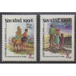 Dominican (Republic) - 1994 - Nb 1165/1166 - Christmas