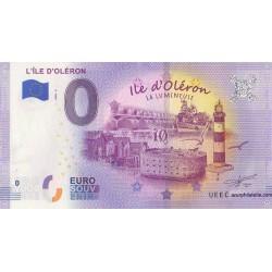 Euro banknote memory - 17 - L'Île d'Oléron - 2020-2