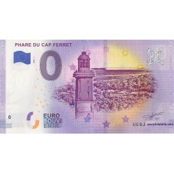 Euro banknote memory - 33 - Phare du Cap Ferret - 2020-1