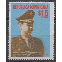Dominicaine (République) - 2011 - No 1645 - Célébrités