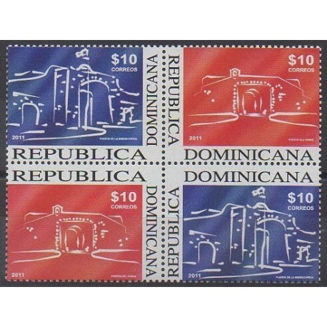 Dominicaine (République) - 2011 - No 1627/1630