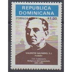 Dominican (Republic) - 1992 - Nb 1090 - Religion