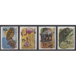 Dominicaine (République) - 1984 - No 933/936 - Animaux