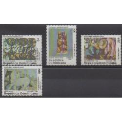 Dominican (Republic) - 1984 - Nb 949/952 - Paintings