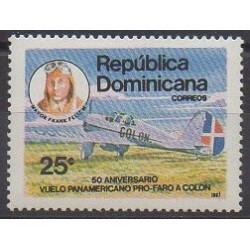 Dominican (Republic) - 1987 - Nb 1030 - Planes