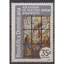 Dominican (Republic) - 1987 - Nb 1009 - Religion