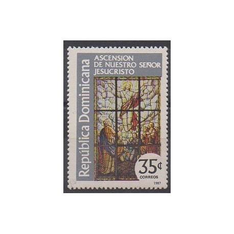 Dominicaine (République) - 1987 - No 1009 - Religion