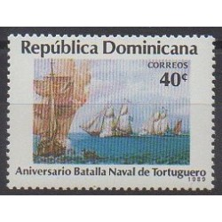 Dominican (Republic) - 1989 - Nb 1055 - Military history - Boats