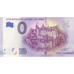 Euro banknote memory - 37 - Cité Royale de Loches - Le logis - 2019-1