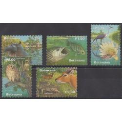 Botswana - 2000 - Nb 846/850 - Animals