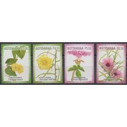 Botswana - 2011 - Nb 1069/1072 - Flowers