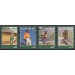 Botswana - 2011 - Nb 1077/1080 - Health