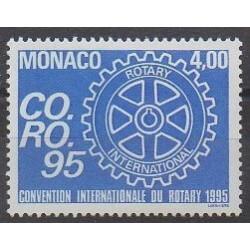 Monaco - 1995 - Nb 1973 - Rotary or Lions club