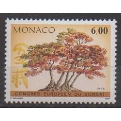 Monaco - 1995 - No 1982 - Arbres