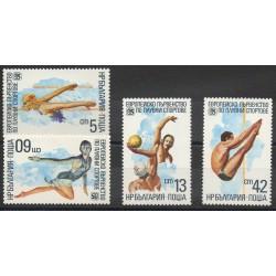 Bulgarie - 1985- No 2936/2939 - Sport