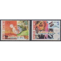 Dominican (Republic) - 1999 - Nb 1405/1406