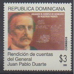 Dominican (Republic) - 1999 - Nb 1364 - Celebrities