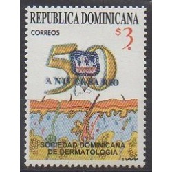 Dominican (Republic) - 1999 - Nb 1392 - Health