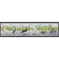 Guinea-Bissau - 2001 - Nb 686/691 - Birds