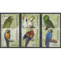 Guinea-Bissau - 2001 - Nb 861/866 - Birds