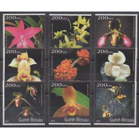 Guinée-Bissau - 2001 - No 954/962 - Orchidées