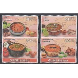 Guinée-Bissau - 2009 - No 2869/2872 - Gastronomie