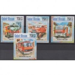Guinea-Bissau - 2013 - Nb 5104/5107 - Firemen
