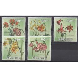 Guinea-Bissau - 2009 - Nb 3174/3178 - Flowers