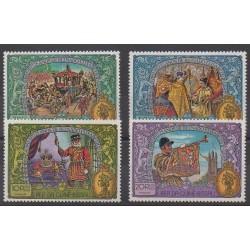 Guinée-Bissau - 1977 - No 55/58 - Royauté - Principauté