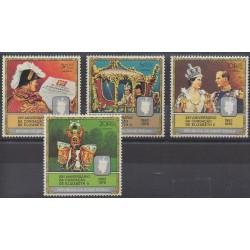 Guinea-Bissau - 1978 - Nb 75/78 - Royalty