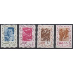 Guinea-Bissau - 1978 - Nb 92/95 - Childhood
