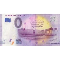 Euro banknote memory - 14 - Le Mémorial de Caen - 2020-5