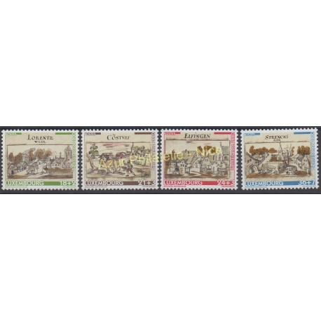 Luxembourg - 2000 - No 1468/1471 - Monuments