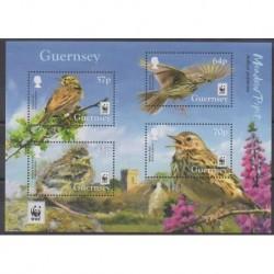 Guernesey - 2017 - No F1622 - Oiseaux - Espèces menacées - WWF