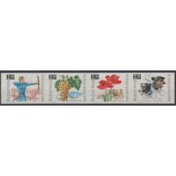 Hongrie - 1966 - No 1861/1864ND - Philatélie