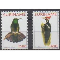 Surinam - 2003 - No 1675/1676 - Oiseaux