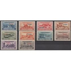Morocco - 1928 - Nb PA22/PA31