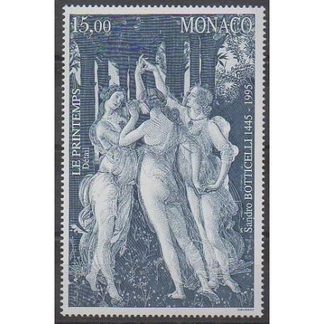 Monaco - 1995 - No 2010 - Peinture