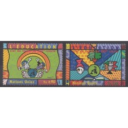 United Nations (UN - Geneva) - 1999 - Nb 398/399 - Childhood