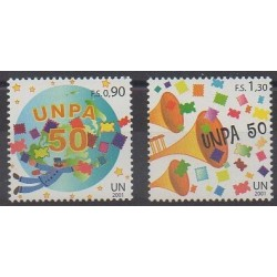Nations Unies (ONU - Genève) - 2001 - No 439/440 - Service postal