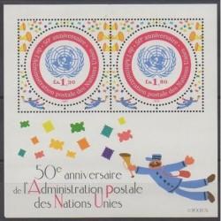 United Nations (UN - Geneva) - 2001 - Nb BF16 - Postal Service