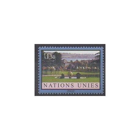 Nations Unies (ONU - Genève) - 2002 - No 446 - Parcs et jardins