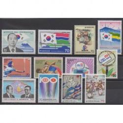 Corée du Sud - 1984 - No 1248/1259