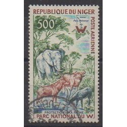 Niger - 1960 - Nb PA18 - Parks and gardens - Animals - Used